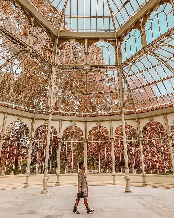 Palacio de Cristal cung điện pha lê nổi tiếng