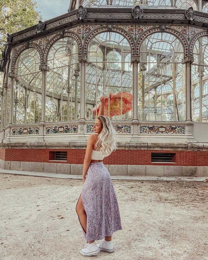 cung điện pha lê trăm tuổi Palacio de Cristal