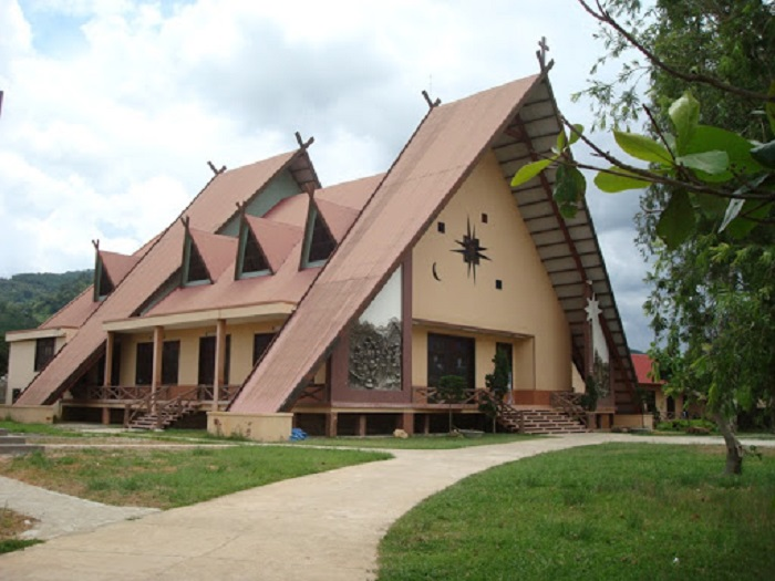địa điểm du lịch Đức Trọng - nhà thờ K'long