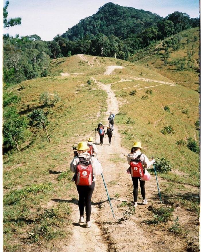 địa điểm du lịch Đức Trọng - trekking rừng Tà Năng