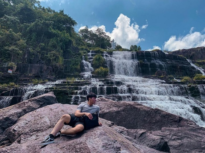 địa điểm du lịch Đức Trọng - check in thác Pongour hùng vĩ