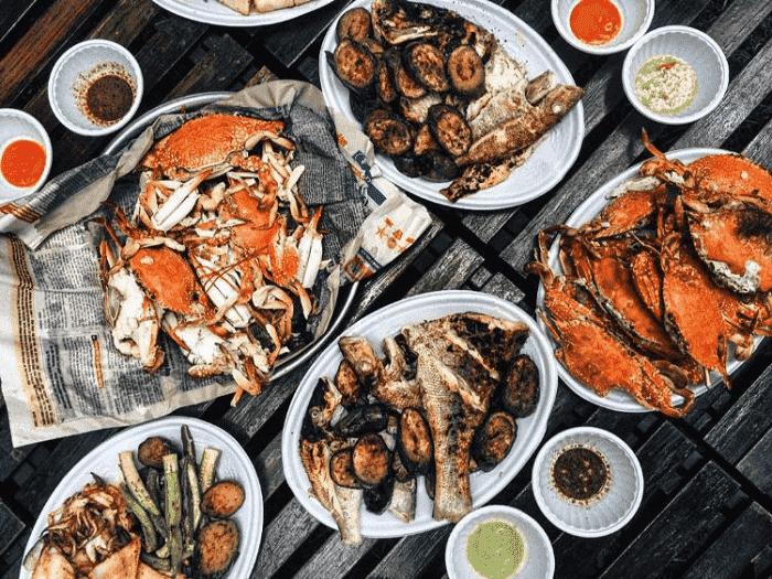 du lịch Côn Đảo từ Hà Nội - thưởng thức hải sản