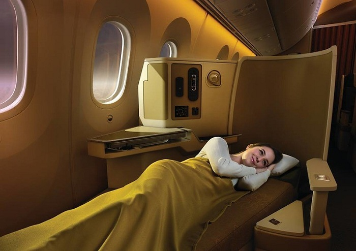 How to pick up your baggage early after your flight - in business class