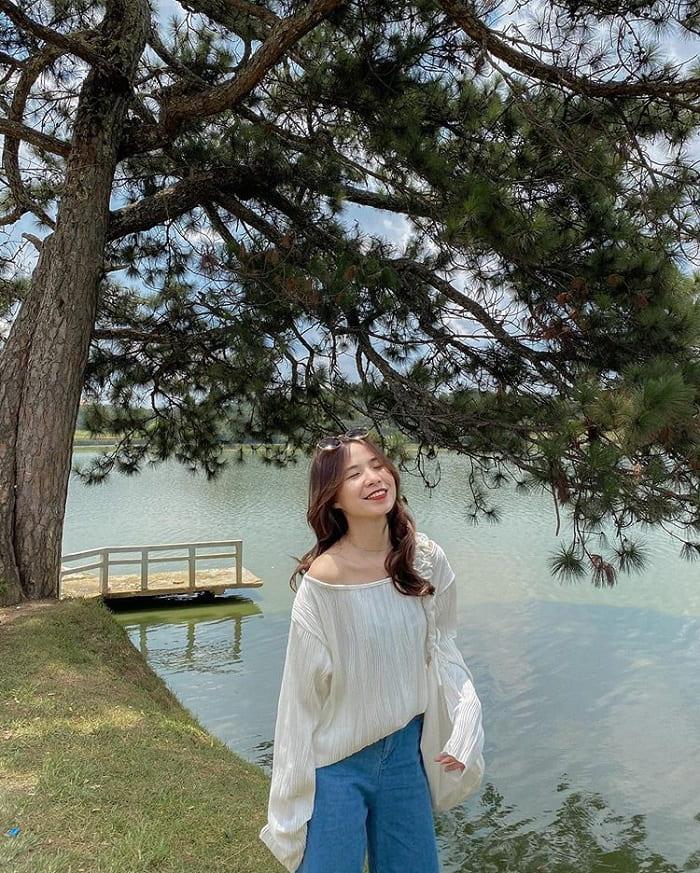 Hồ Xuân Hương - điểm tham quan trong chương trình khuyến mãi tour Đà Lạt 3N3Đ