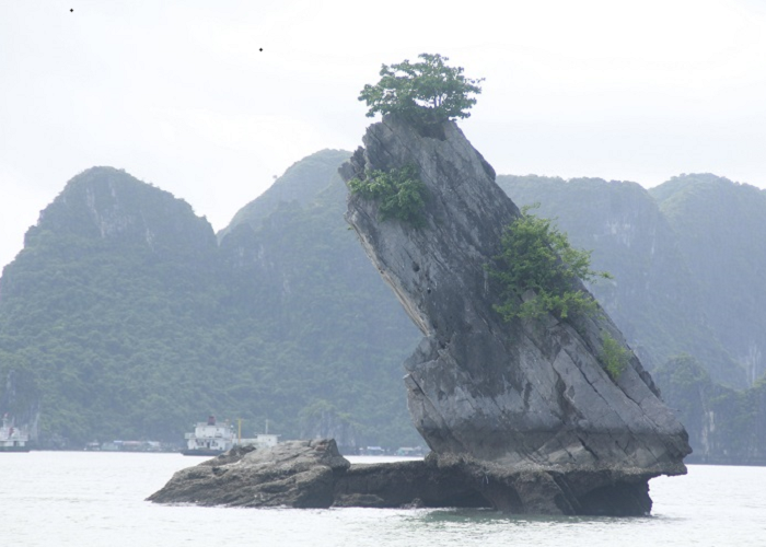 Hon Con Coc on Ha Long Bay - famous sights