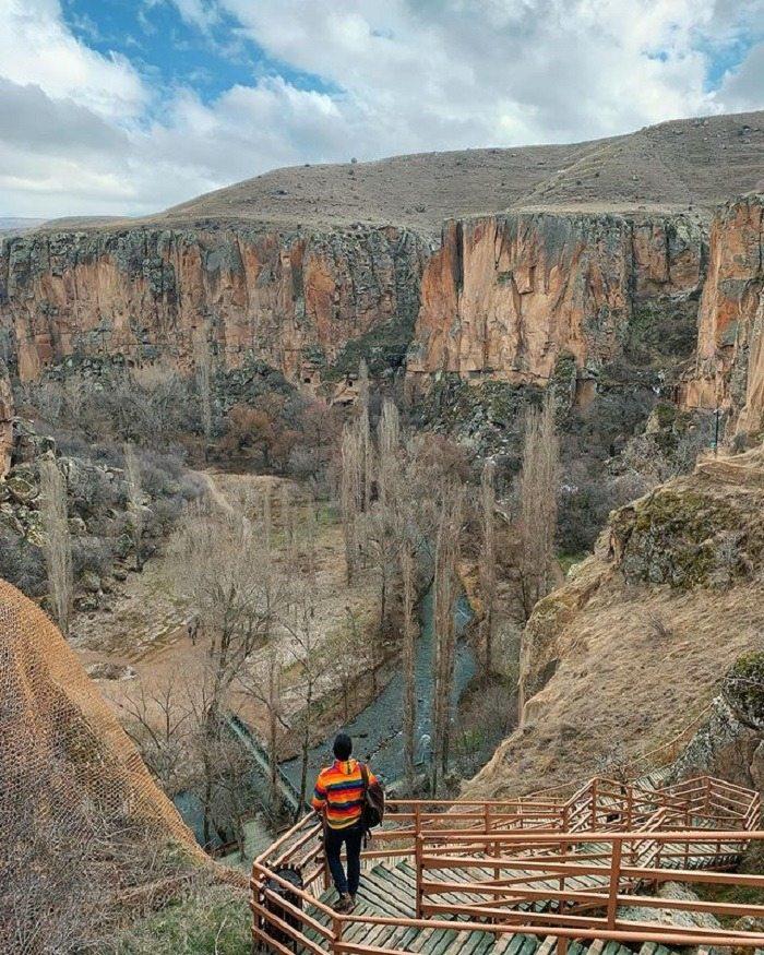 Ihlara  là thung lũng kỳ lạ ở Thổ Nhĩ Kỳ tuyệt đẹp