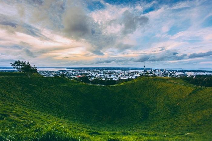 Núi Eden - khám phá Auckland trong 4 ngày