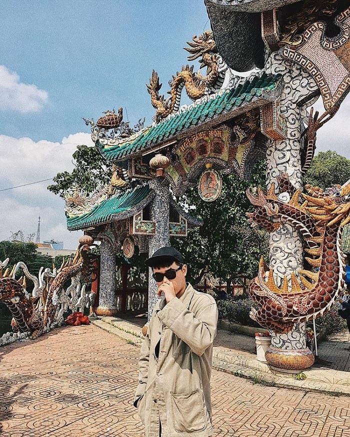 Explore Floating Temple on the Saigon River