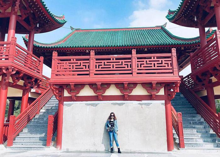 Travel Experience Tinh Bien An Giang - lyrical features of An Giang Lau Pagoda