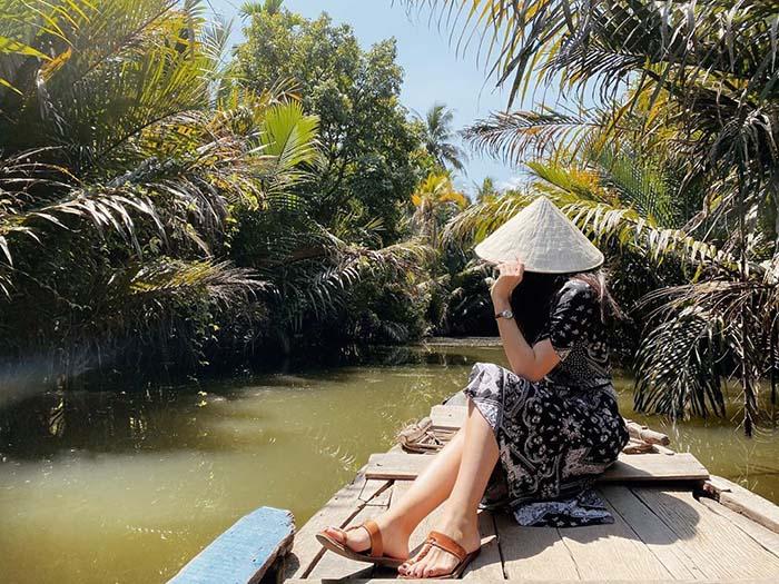 Check in khu du lịch Làng Bè Bến Tre - cách Sài Gòn chỉ khoảng 75km
