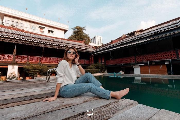 Ancient space at Sol Heng Tai Villa