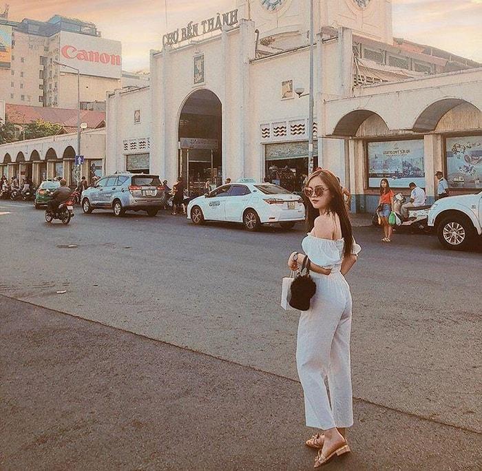 Kinh nghiệm du lịch Sài Gòn - tham quan chợ Bến Thành