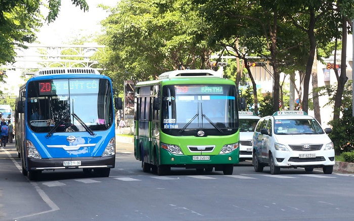 Kinh nghiệm du lịch Sài Gòn - đi lại bằng xe bus