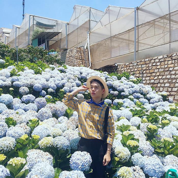 Kinh nghiệm tham quan làng hoa Vạn Thành - Làng hoa có tuổi đời hơn 60 năm