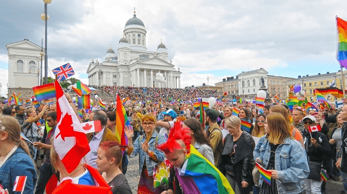 Lễ hội Helsinki Pride - lễ hội ở Phần Lan dành cho LGBT