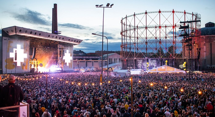 Flow Festival - lễ hội ở Phần Lan sôi động
