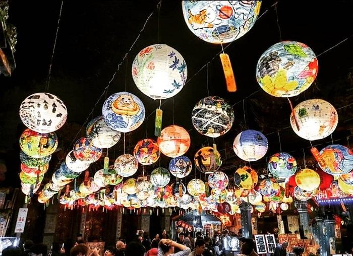 lễ hội đèn lồng - lễ hội Đài Loan huyền ảo