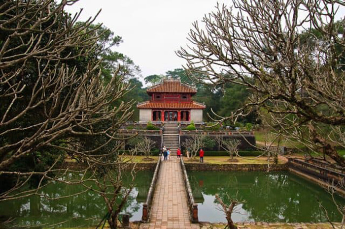 Architectural beauty of Hue Minh Mang mausoleum - One of the four most beautiful tombs