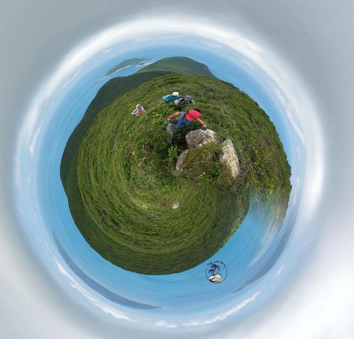 núi Yên Ngựa Côn Đảo - check in từ trên cao