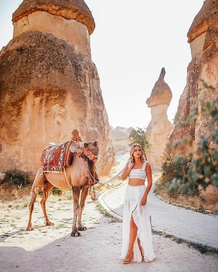Pasabag là thung lũng kỳ lạ ở Thổ Nhĩ Kỳ