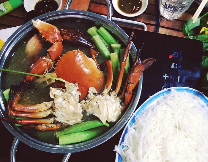 District 1 - Crab hotpot