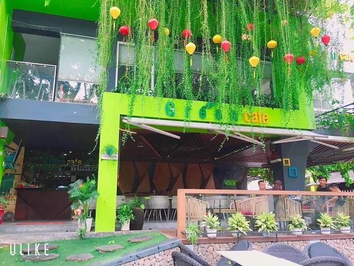 quán cafe đẹp ở Phú Yên - Green coffee