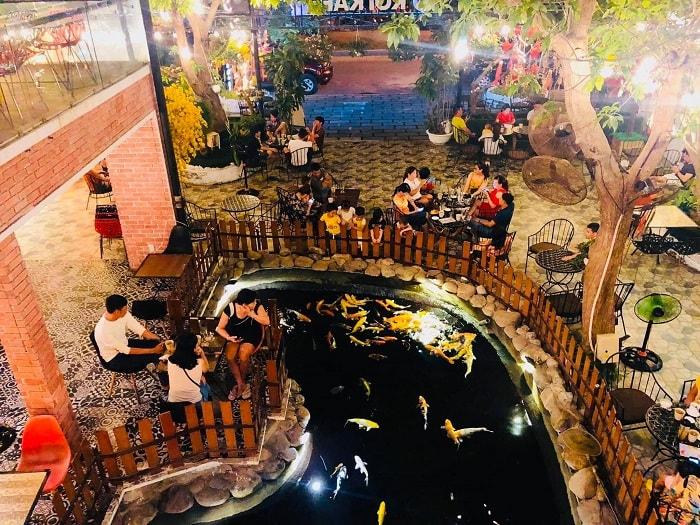 quán cafe đẹp ở Phú Yên - Koi cafe