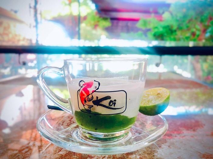 quán cafe đẹp ở Phú Yên - thưởng thức đồ uống ở Koi cafe