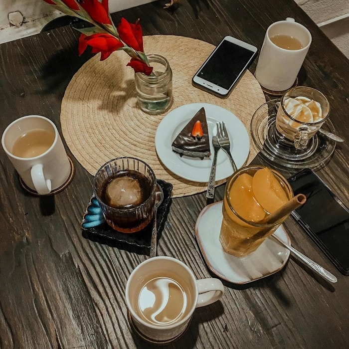 Nice cafe in Phu Yen - delicious pastry drinks at PHD Photo & Coffee