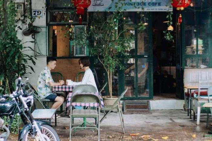 quán cafe đẹp ở Phú Yên - Wait Vintage cafe lãng mạn