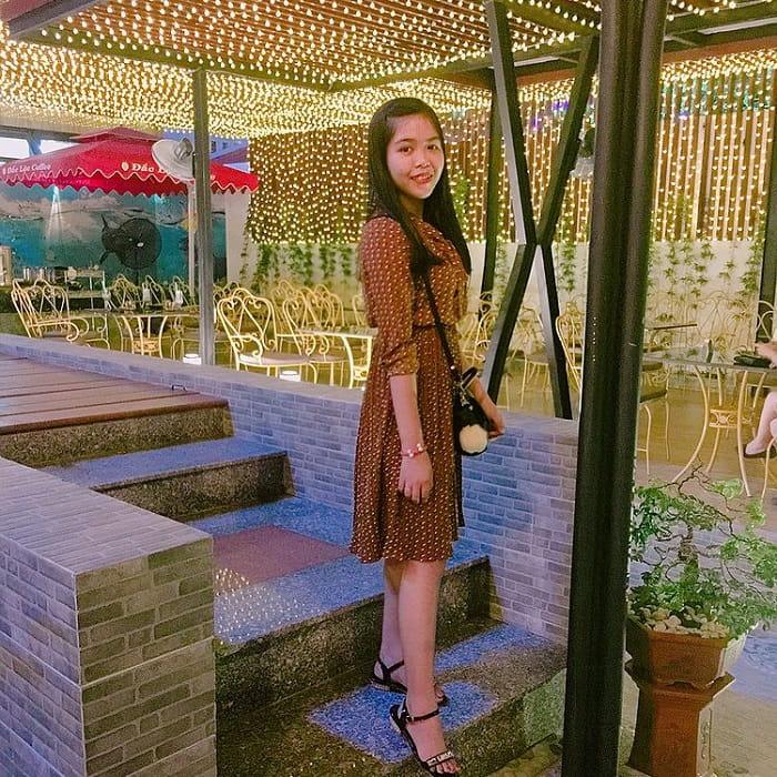 quán cafe đẹp ở Phú Yên - không gian lung linh ở Đắc Lộc coffee