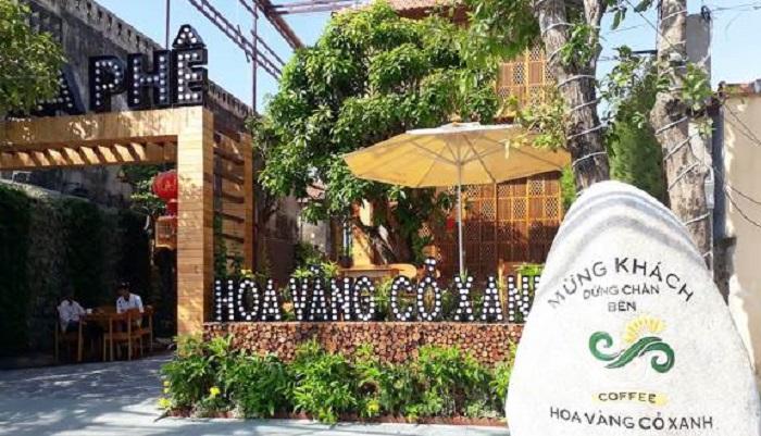 quán cafe đẹp ở Phú Yên - Quán Hoa Vàng Cỏ Xanh