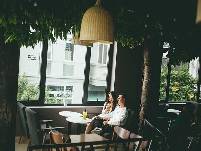 Nice cafe in Phu Yen - the idyllic Khong Name shop