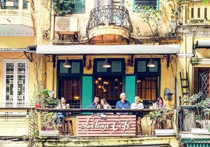 Létage cafe - quán cà phê view Hồ Gươm siêu đẹp ở Hà Thành