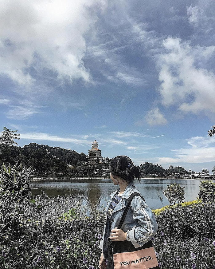 Travel Experience Tinh Bien An Giang - View of Big Buddha Pagoda