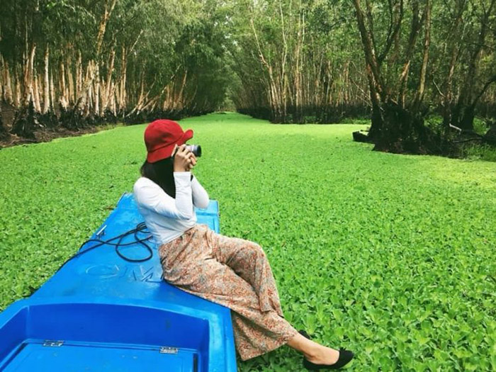 Travel Experience Tinh Bien An Giang - Tra Su Melaleuca Forest