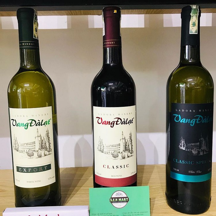 rượu vang - đặc sản Đà Lạt mua làm quà ý nghĩa và ấn tượng nhất