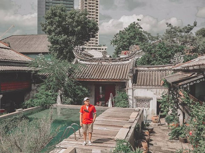 Green trees - the highlight of Sol Heng Tai villa