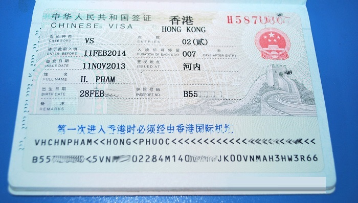 Sự khác biệt giữa Hồng Kông và Trung Quốc về Visa nhập cảnh
