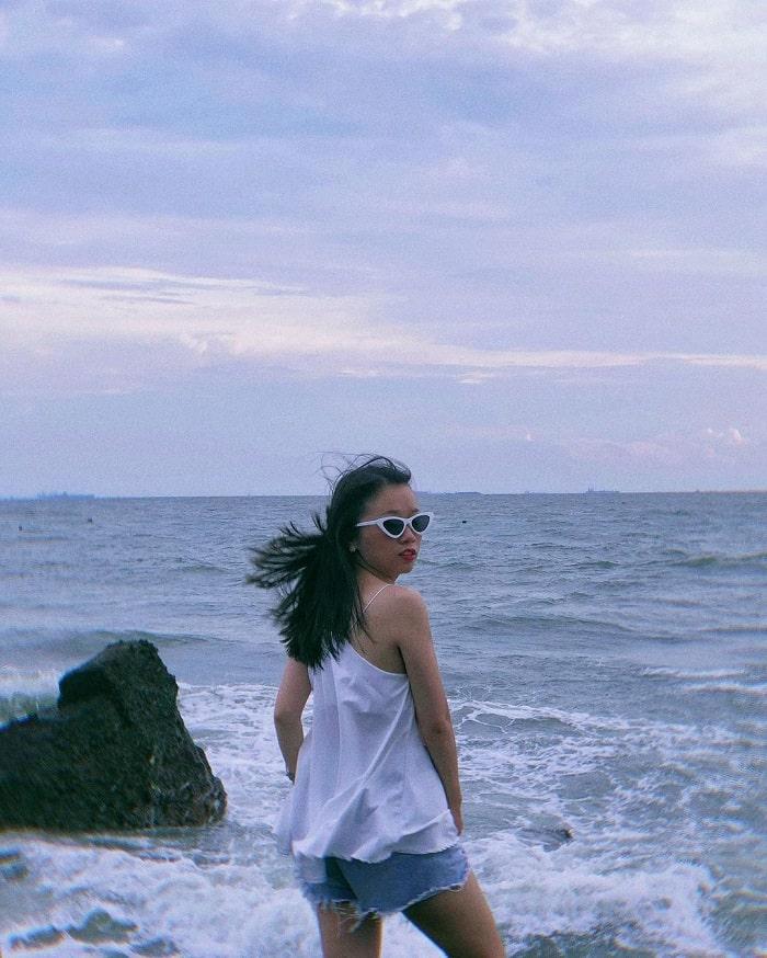 Tận hưởng gió mát tại Bãi Dứa Vũng Tàu