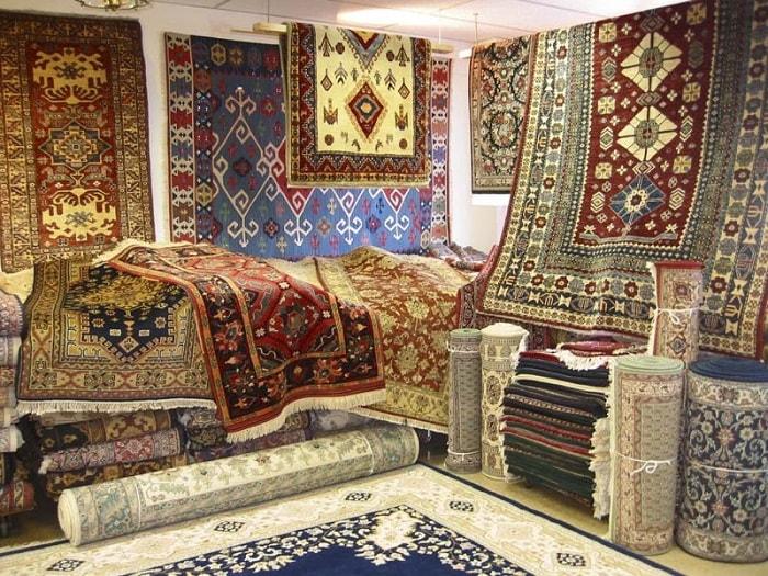 Mua gì khi du lịch Ai Cập - Thảm len