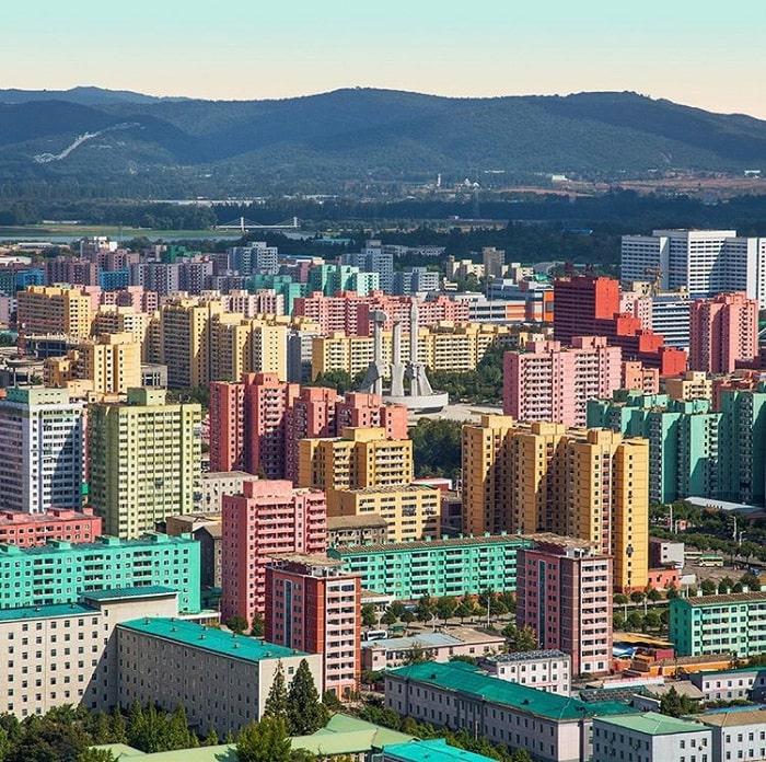 vẻ đẹp thành phố Bình Nhưỡng - kinh nghiệm du lịch Bình Nhưỡng chi tiết