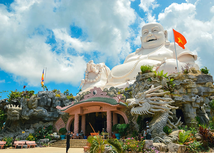 Travel experience Tinh Bien An Giang - Buddhist Temple Monastery