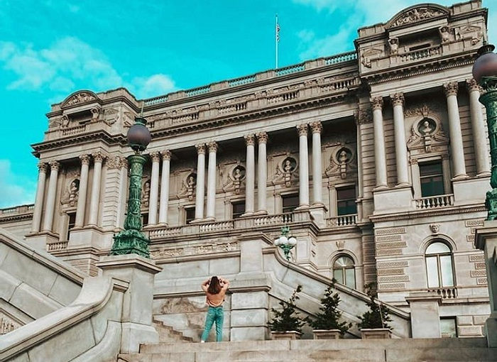 thư viện Quốc hội Mỹ - địa danh gắn với lịch sử Mỹ