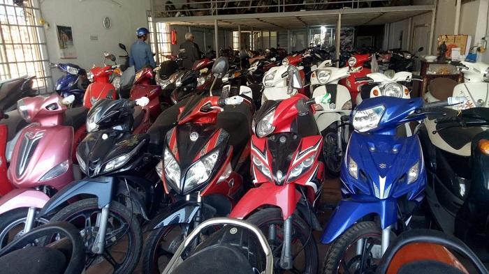 Thuê xe Sài Gòn - Cửa hàng cho thuê xe máy Gia Bảo