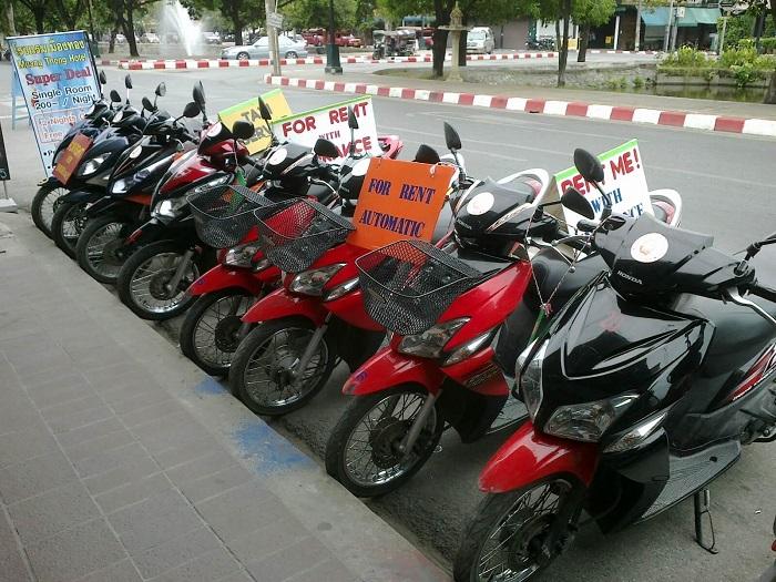 Thuê xe máy ở Sài Gòn - dịch vụ cho thuê xe Thành Đạt