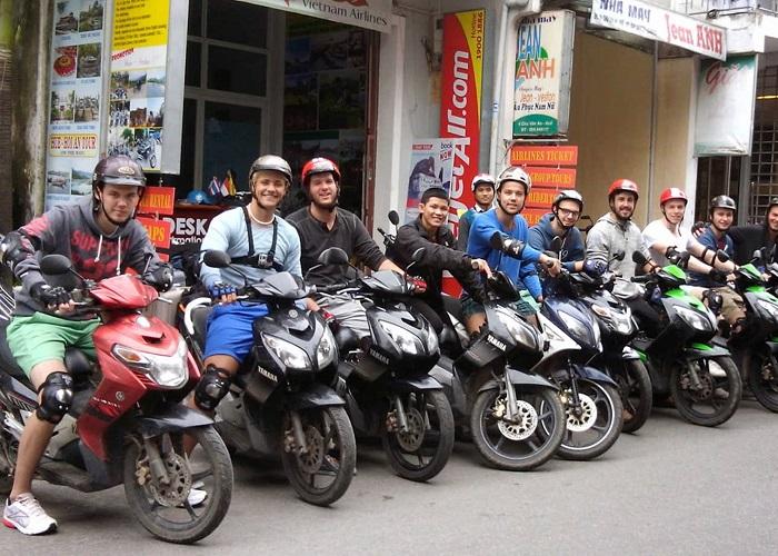 Thuê xe Sài Gòn - Dịch vụ cho thuê xe máy Thanh Lan