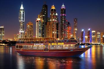 Ngắm nhìn Dubai đẹp như mơ với trải nghiệm đi thuyền Dhow trên sông