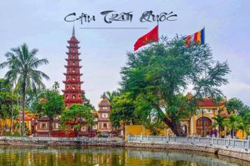Tham quan chùa Trấn Quốc hơn 1,500 tuổi ở Hà Nội