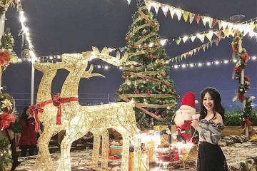 'Chóp của đỉnh' với 7 địa điểm chụp ảnh Giáng Sinh siêu xịn tại Hà Nội